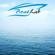 MB Living, Bora Bora, Toalettmappe, (30x18x6cm), Blå - 1stk.